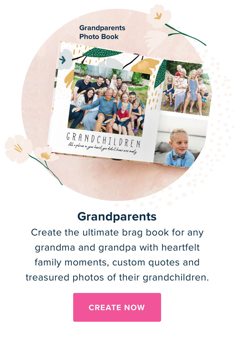 Grandparents Photo Book