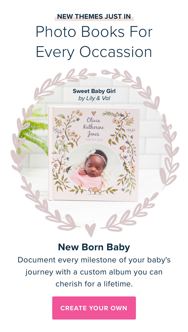 New Themes Just In - Sweet Baby Girl by Lily & Val