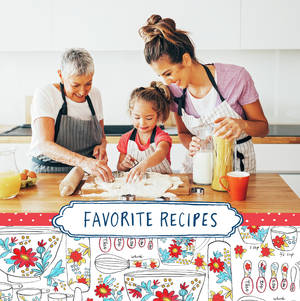 Favorite Recipes Cookbook by Molly Hatch