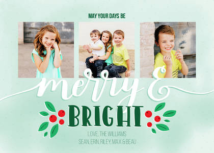 Merry & Bright by Printable Crush