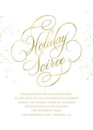 Elegant Holiday Soiree