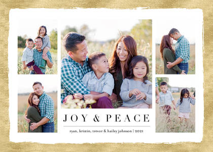 Joy and Peace Collage