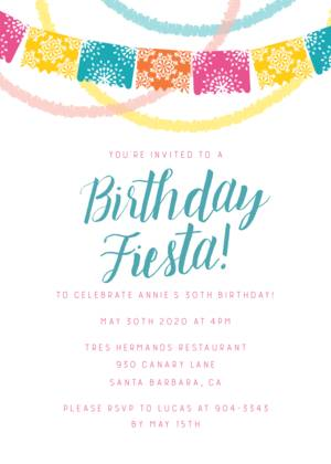 Birthday Fiesta by Pennie Post