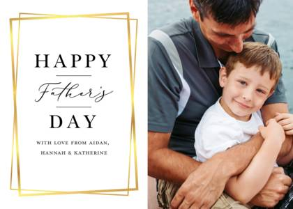Geometric Classic Father's Day