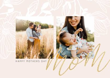 Soft Blush Mom Script