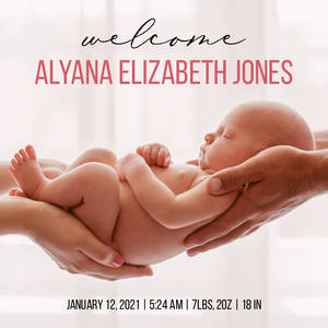 Welcome Baby Full Photo