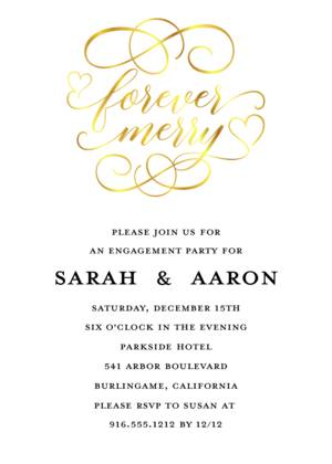 Forever Merry Engagement Party