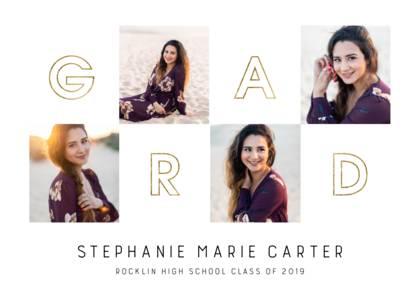 Graduation Announcements Design Templates