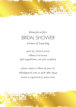 Bridal Shower Invitation Templates Custom Photo Cards