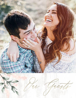 Boho Chic Wedding Guest Book