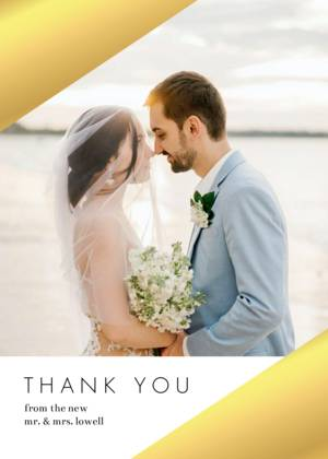 Wedding Thank You Cards And Custom Photo Postcards