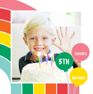 Rainbow Birthday Book by Ann Kelle