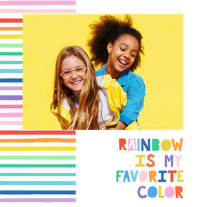 Rainbow is My Favorite Color by Ampersand Design Studio