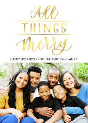 All Things Merry by Letters by Shells