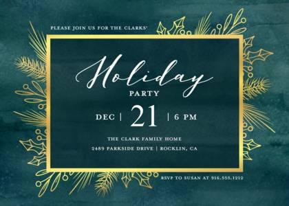 Holiday Party Invitation Templates Company And Office Party Invites