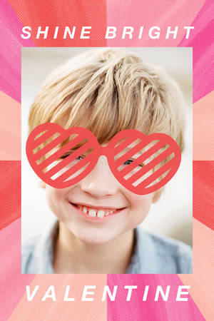 Classroom Valentine Heart Glasses