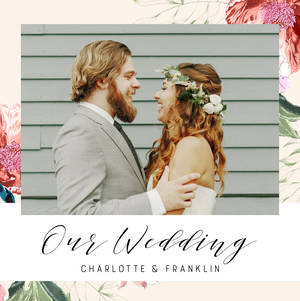 Soft Floral Wedding by Plum Pretty Sugar