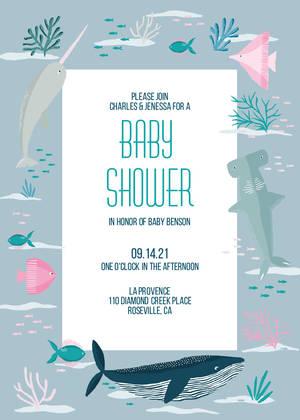 S Baby Shower Invitations