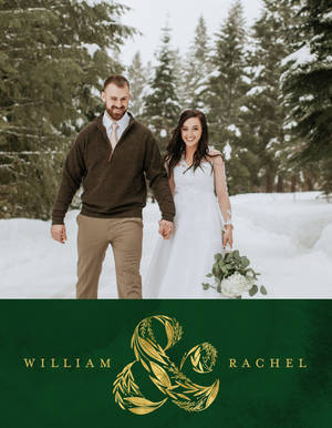 Emerald Wedding by the Pigeon Letters