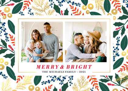 Berry Holiday Theme by Martha Stewart