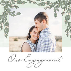 Floral Engagement by Poppy and Gray Co