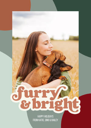 Retro Furry & Bright Pet Holiday