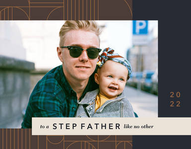 Mod Patterns Step Father's Day