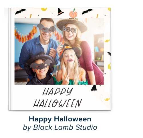 Happy Halloween by Black Lamb Studio