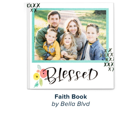 Faith Book by Bella Blvd