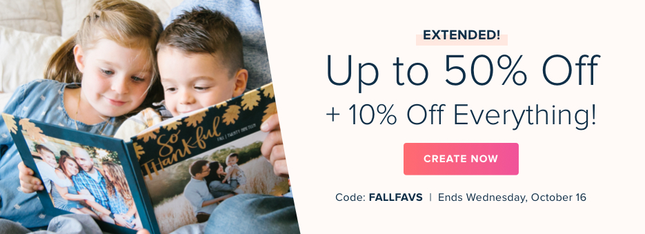 Up to 50% Off + 10% Off Sitewide