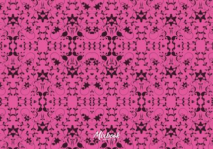 Hot Pink Damask Thank You