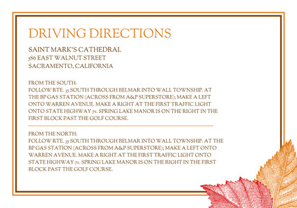 Fall Leaves Directions