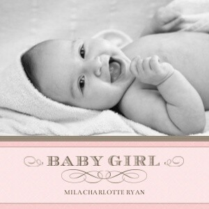 Baby Photo Books Classic Baby Girl By Mixbook