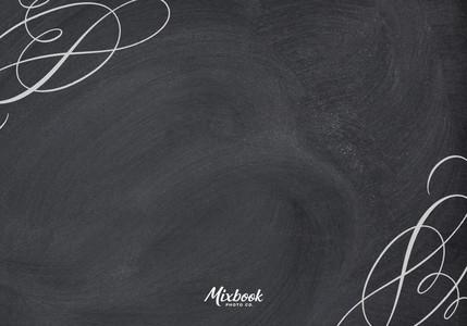 Elegant Chalkboard Response Card