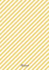 Striped Monogram Collage