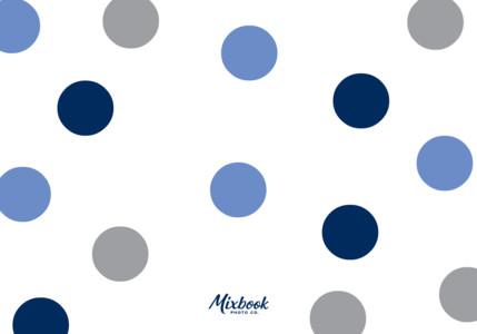 Thank You Dots Blue