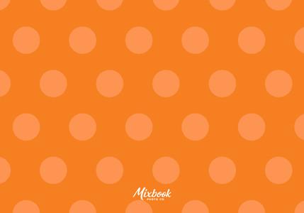 Orange Dot to Dot Birthday