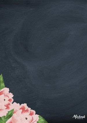 Chalkboard Floral