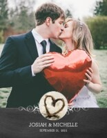 Chalked Wedding
