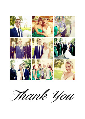Thank You Photo Collage