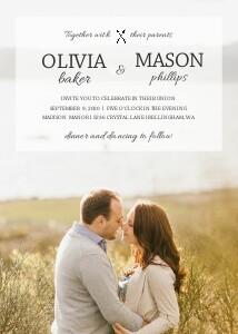 Transparent Wedding Overlay