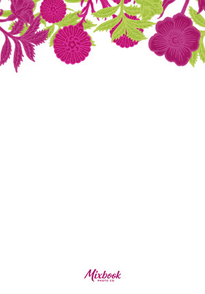 Floral Fuchsia