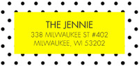 Yellow Polka Dots by Jenni I Spy DIY