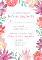 Colorful Watercolor Floral