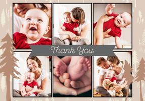 Woodland Thank You By Bonnie Christine