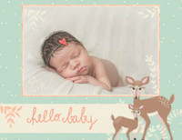 Woodland Baby Girl by Bonnie Christine
