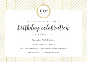 Milestone Birthday