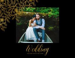 Golden Wedding Calendar