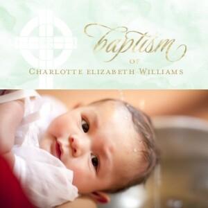 Blessed Baptism