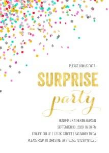 Confetti Surprise Party